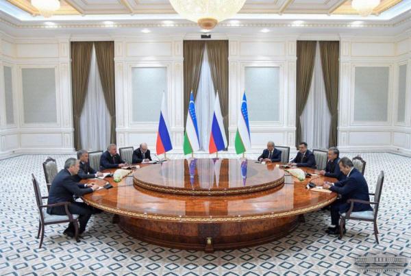 Ўзбекистон Президенти Россия Давлат думаси раисини қабул қилди