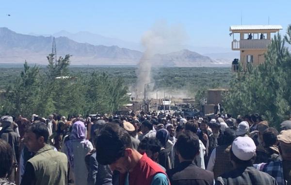 Во время выступления президента в Афганистане прогремел взрыв. Есть жертвы
