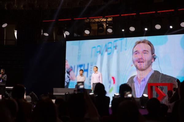 Так просто быть благодарным: легендарный Ник Вуйчич выступил в Ташкенте