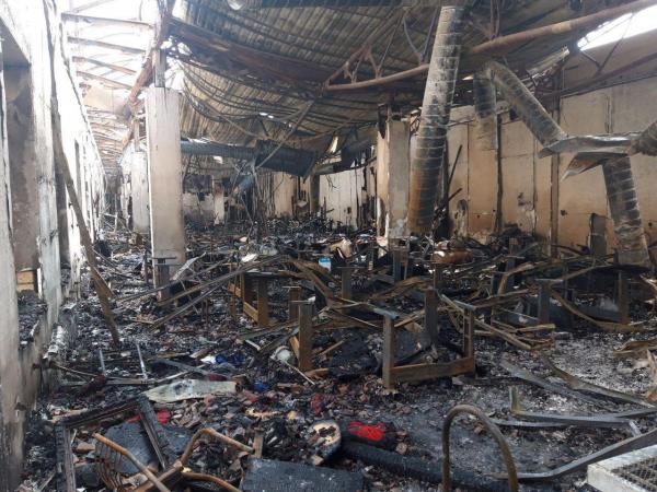 Крупный пожар в Ташкенте тушили более двадцати единиц техники на протяжении нескольких часов