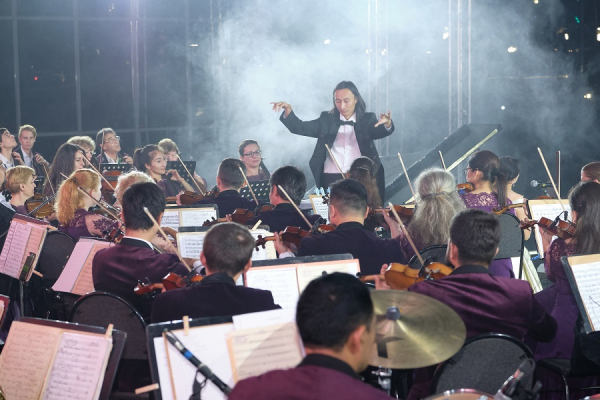 Open air c участием юных талантов прошел в Ташкенте (фото)