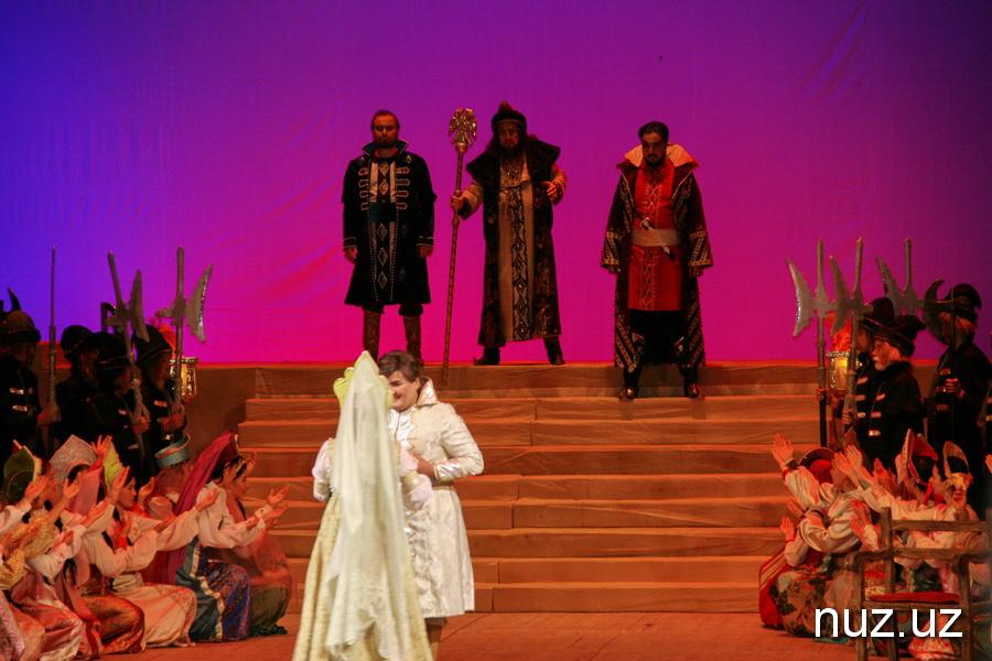 «Царская невеста» на сцене ГАБТА в Ташкенте