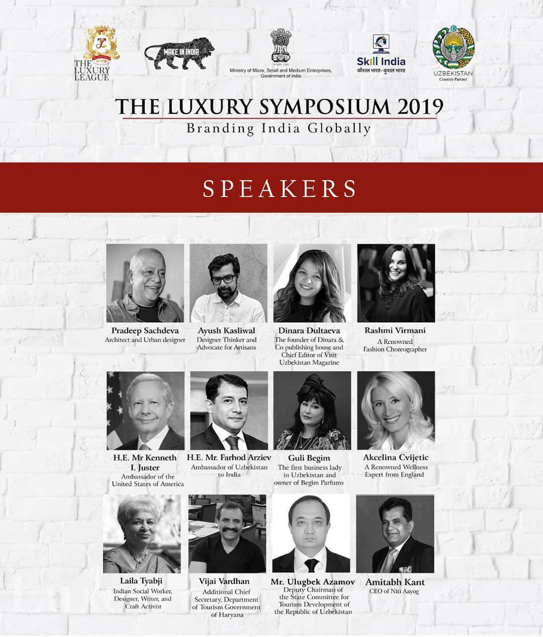 Узбекистан на The Luxury Symposium 2019 в Индии
