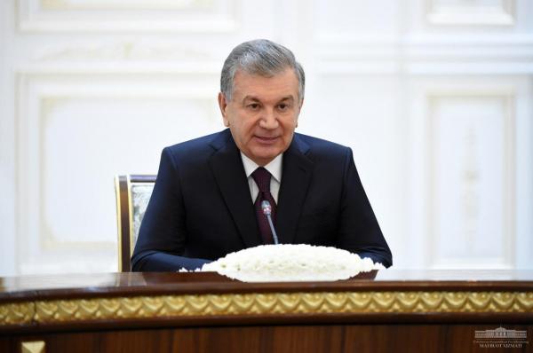 Шавкат Мирзиёев принял Валентину Матвиенко