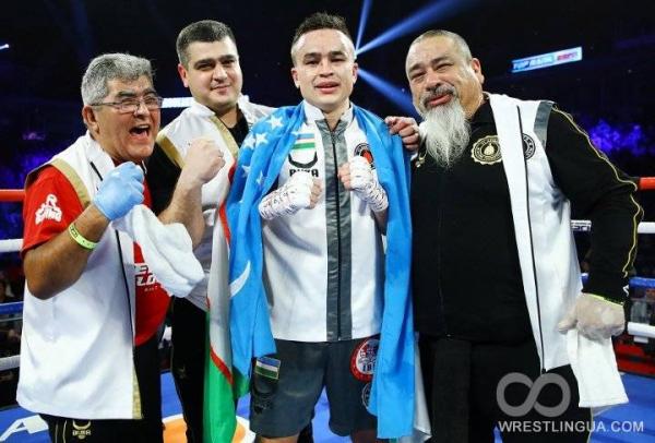 Кудратилло Абдукахоров, победив Луиса Коллазо, намерен претендовать на чемпионский титул по версии IBF