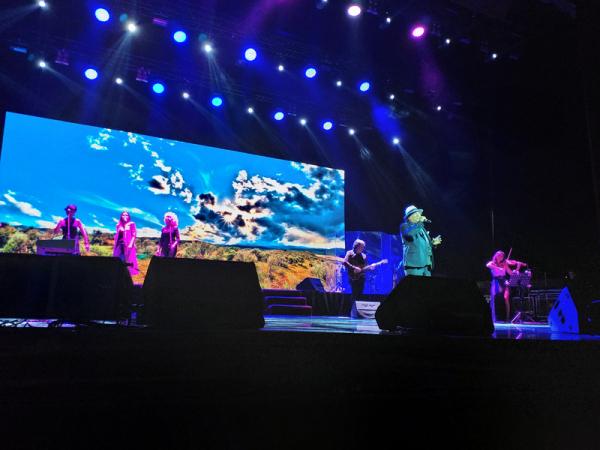Felicita маэстро Аль Бано на ташкентской сцене