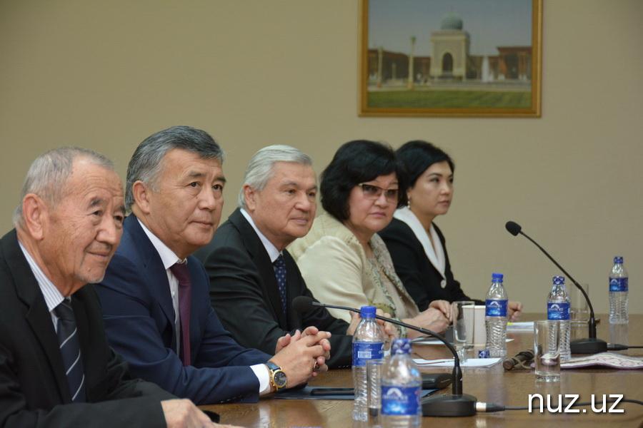 В Ташкенте отметили 80-летний юбилей видного дипломата и государственного деятеля Кыргызстана Батырали Сыдыкова