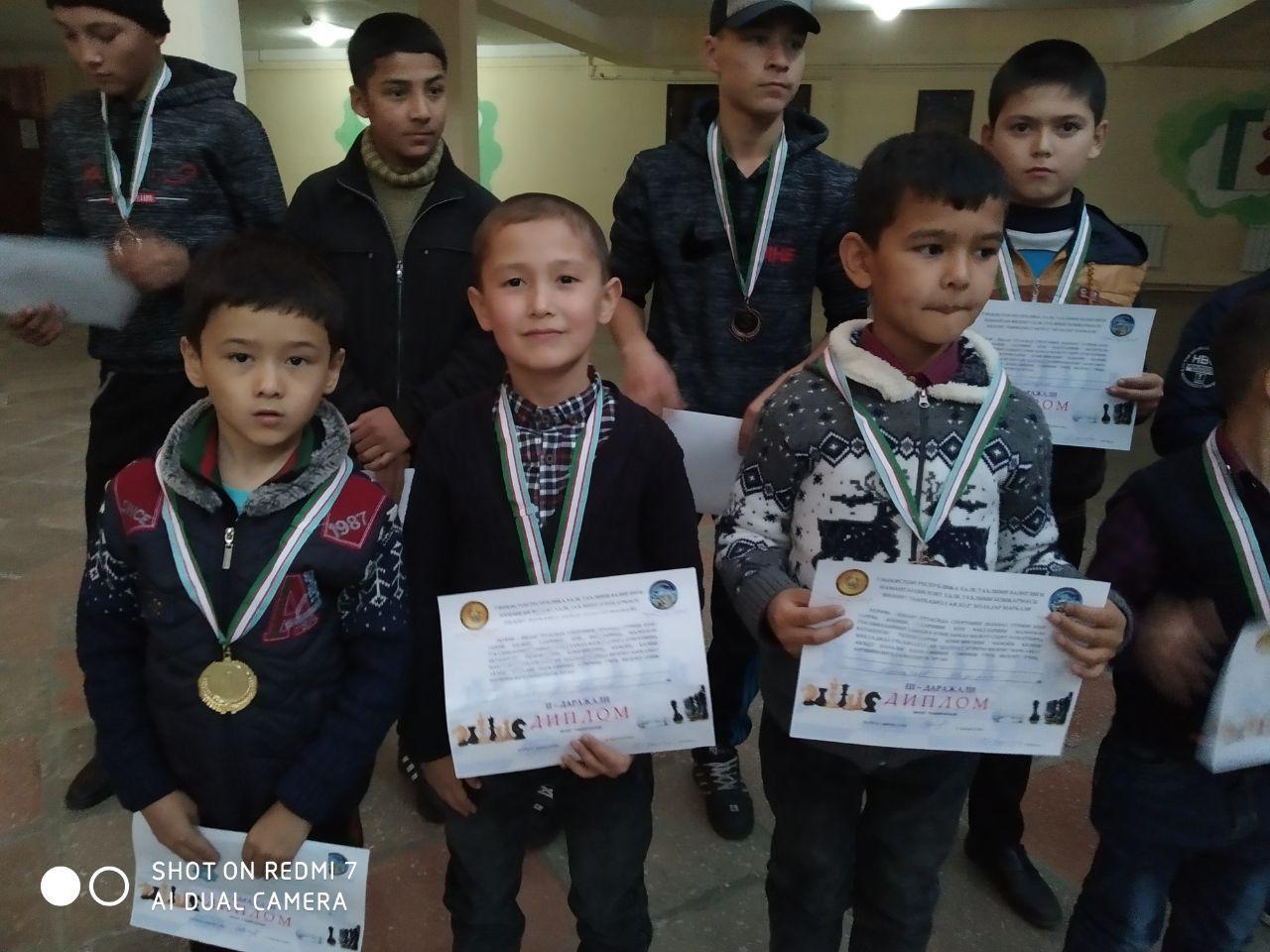 Юные шахматисты Наманганской области определили сильнейших