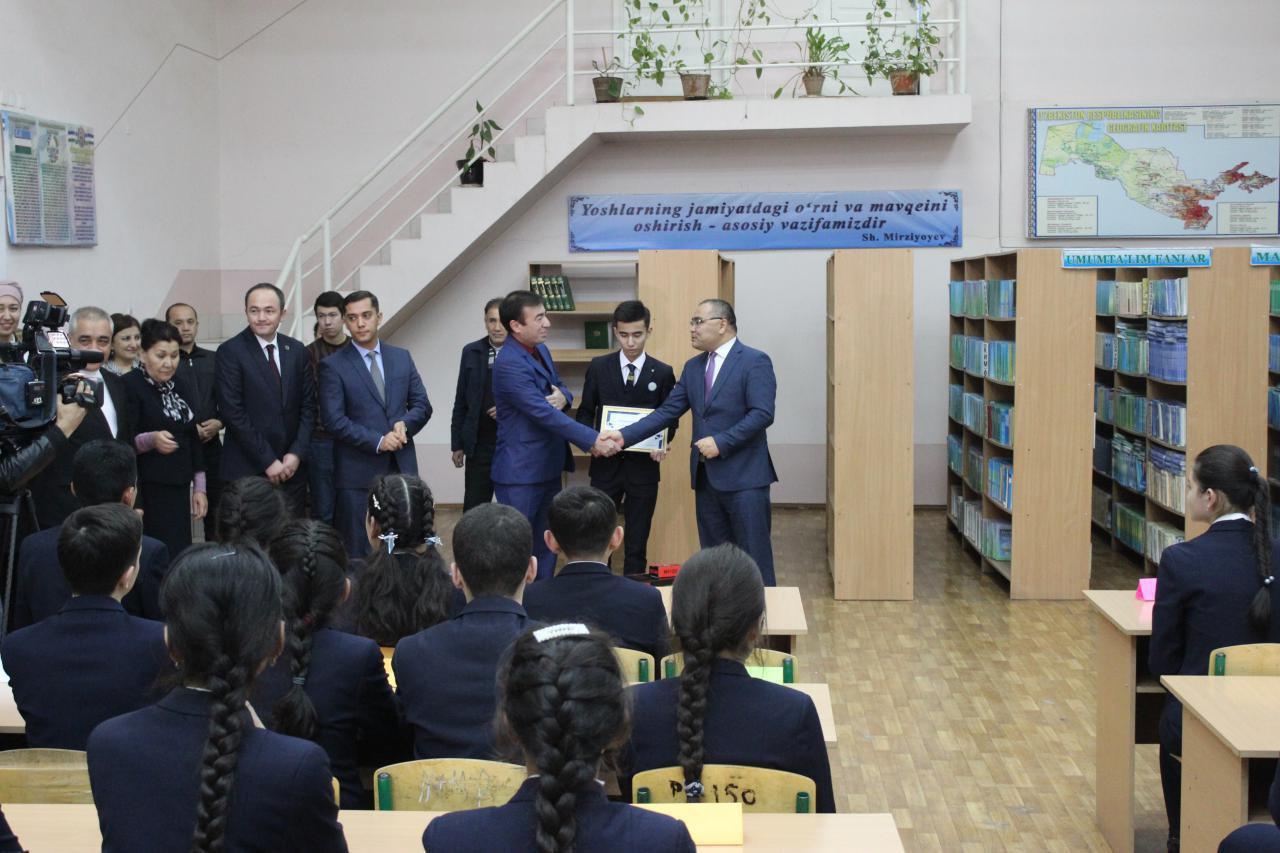 Победитель Международной математической олимпиады принят в Академию молодежи при Мининновации