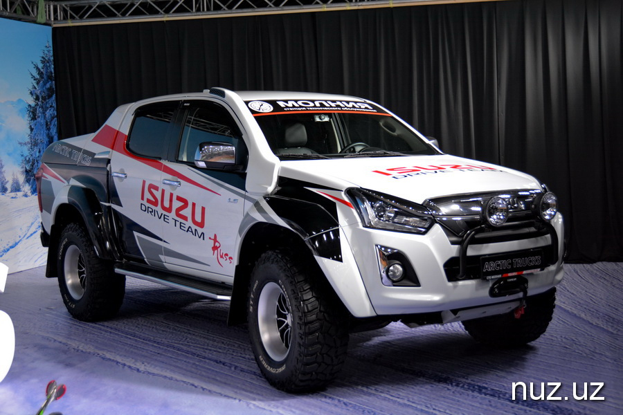 Авто для силовиков и экстремалов: SamAuto начал производство первых в Узбекистане пикапов ISUZU D-Max (фото)