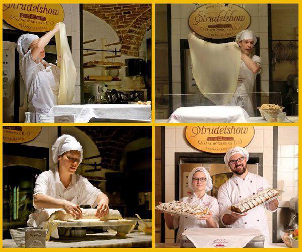 Скатерть белая… На блюде подадут нам Чудо-Штрудель!