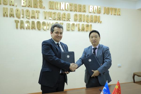 Компании ZTE и Huawei установят в школах Узбекистана системы видеонаблюдения