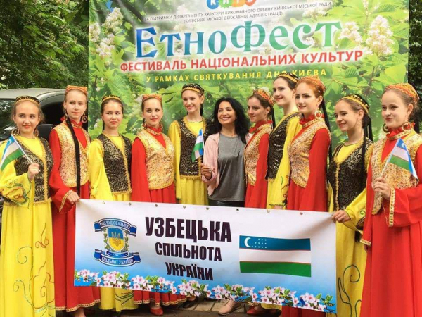 Украинские танцовщицы покоряют мир узбекскими национальными танцами