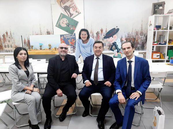 «Узбеккино» и «Союзмультфильм» создадут мультсериал о Ходже Насреддине