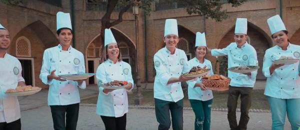 Ассоциация поваров Узбекистана сняла зажигательный клип на свой гимн (видео)