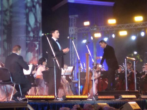 Концерт солистов  LA SCALA  с Молодежным симфоническим оркестром Узбекистана