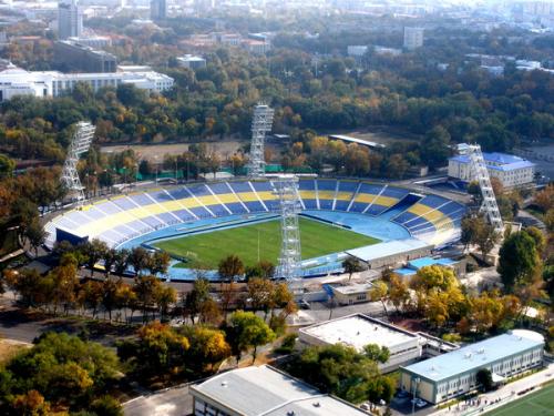 В Ташкенте сносят стадион «Пахтакор»