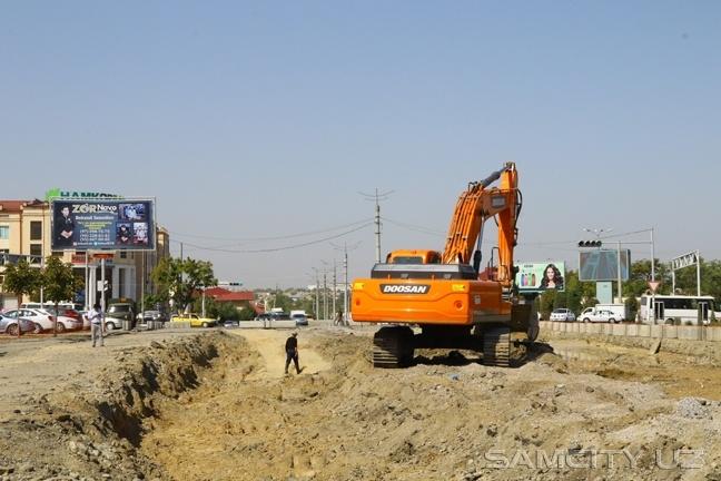 В Самарканде рабочий погиб при обрушении грунта на стройке