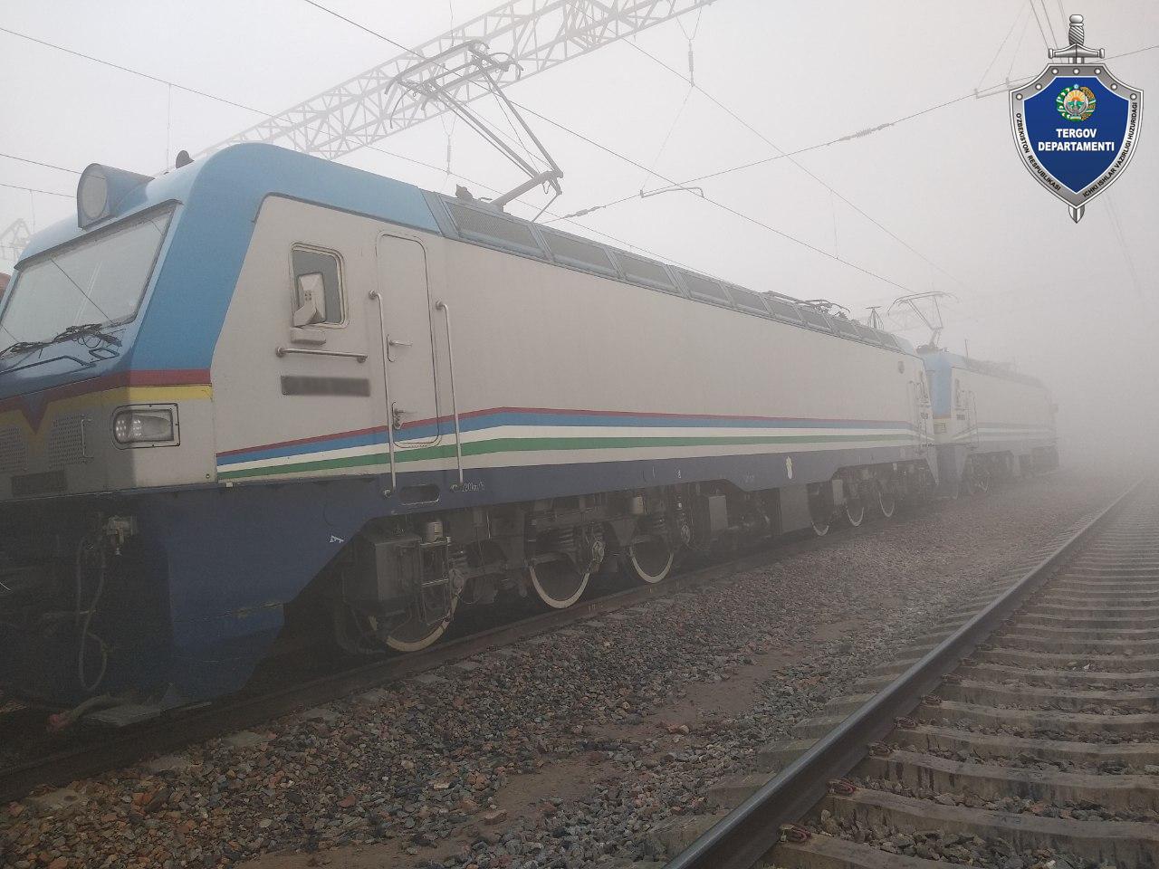 В Наманганской области поезд переехал пешехода. Пожилой мужчина скончался