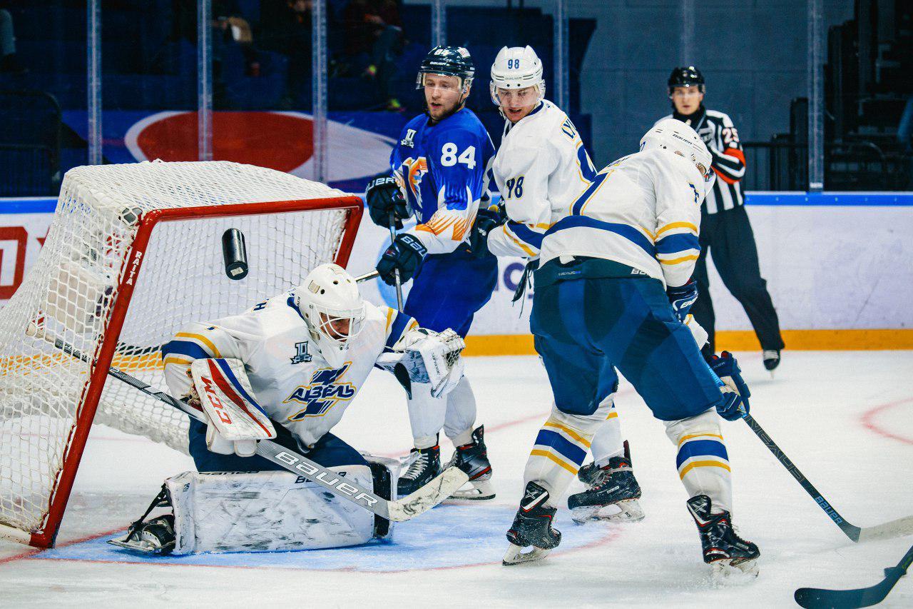 Безжалостный реванш: хоккейный клуб «Хумо» разгромил пензенский «Дизель» со счетом 7:1