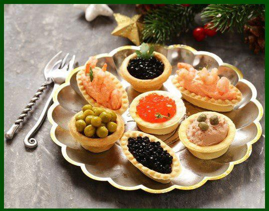 Новогодняя «нимфетка»-  вся в закусках «Тарталетка»!