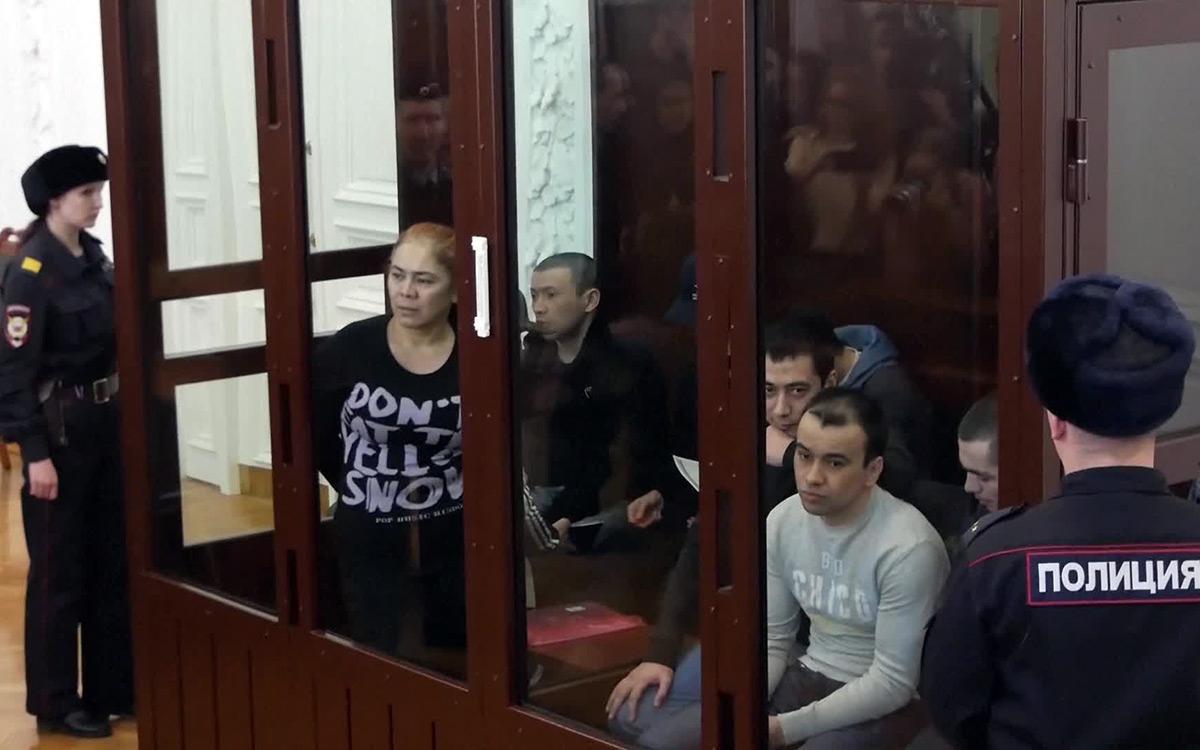 Аброр Азимов приговорён к пожизненному заключению в Санкт-Петербурге