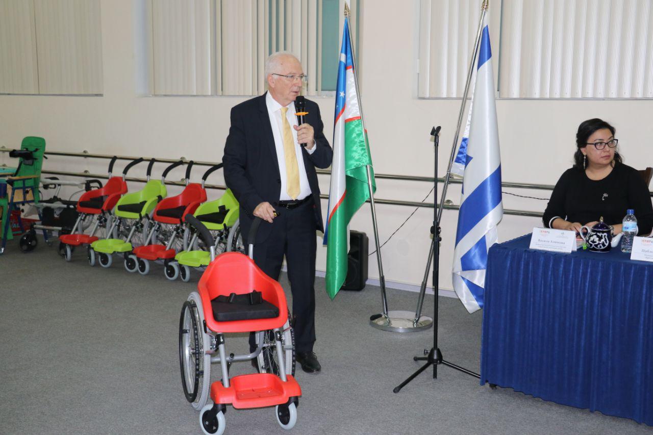 Как израильский предприниматель после выхода на пенсию помогает детям Узбекистана и всего мира