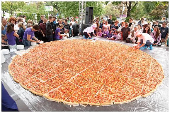 В Ташкенте приготовят гигантскую пиццу