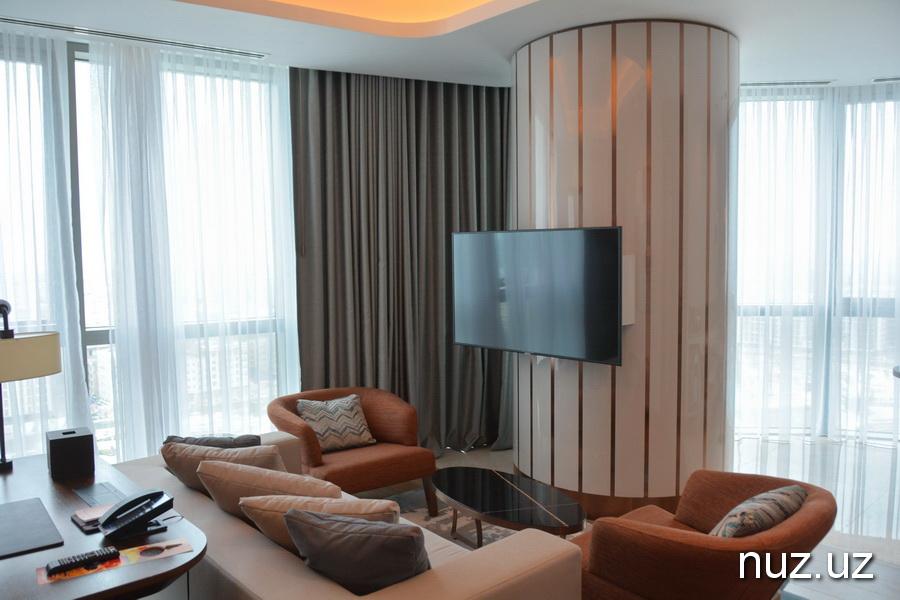 К 100-летию корпорации «Хилтон» в Ташкенте введен в эксплуатацию юбилейный отель (фото)