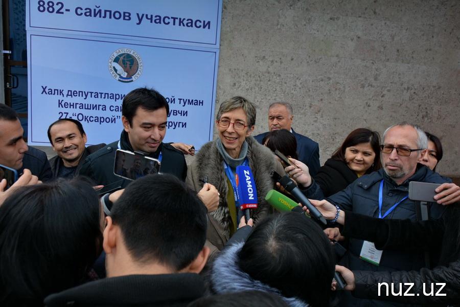 Тана де Зулуэта о выборах и встрече с Шавкатом Мирзиёевым