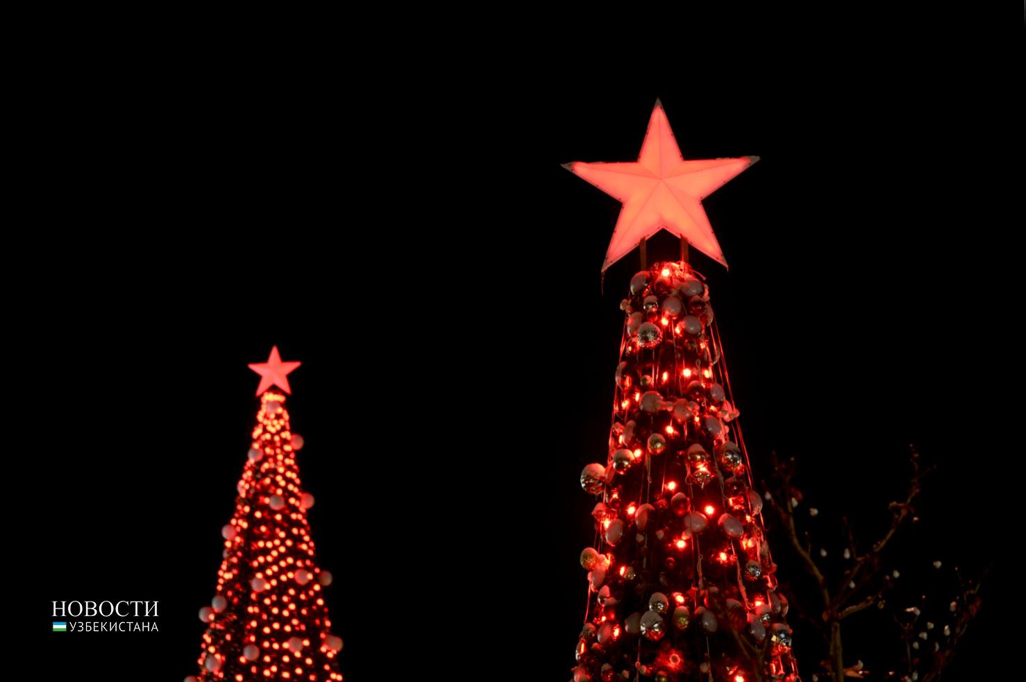 Названы места в Ташкенте, где пройдут новогодние народные гулянья