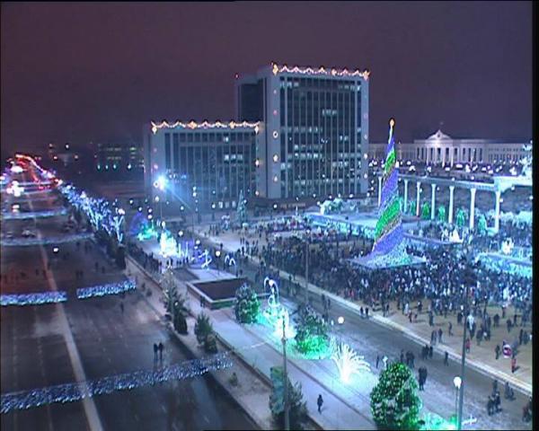 На всё время новогодних праздников в Ташкенте перекроют две центральные улицы (карта)