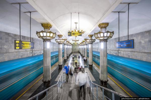 В ташкентском метро тестируются камеры с возможностью распознавания лиц: задержано 12 преступников