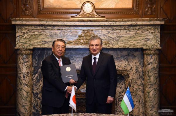Ўзбекистон ва Япония стратегик шериклик, дипломатик хамкорлик, дўстона муносабатлари давом этмоқда