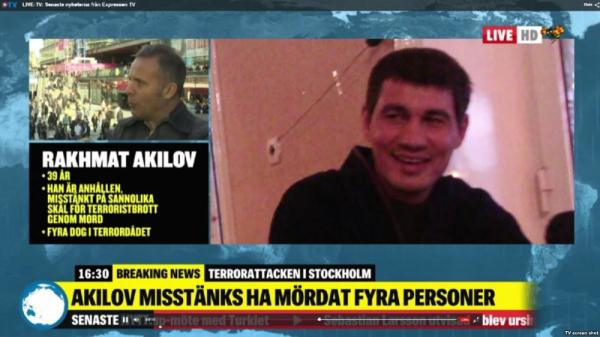 В Турции опять вспомнили самаркандца Рахмата Акилова, совершившего теракт в Стокгольме