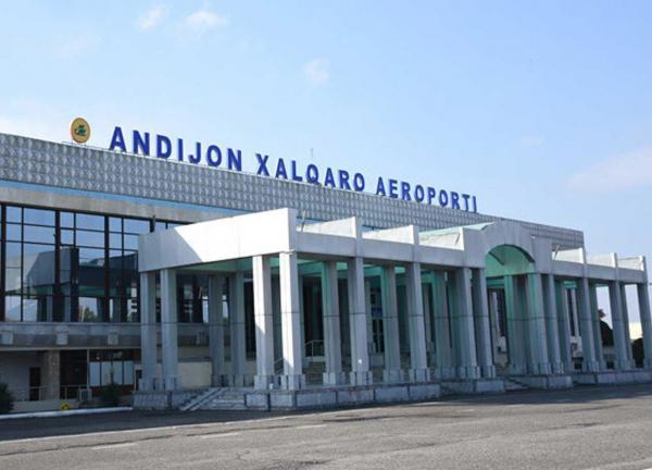 Международный аэропорт «Андижан» начал работу после годового перерыва