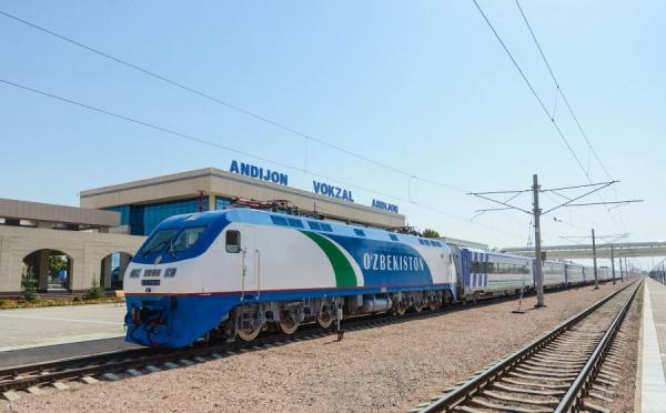Стало известно, сколько  железных дорог электрифицировано в Узбекистане