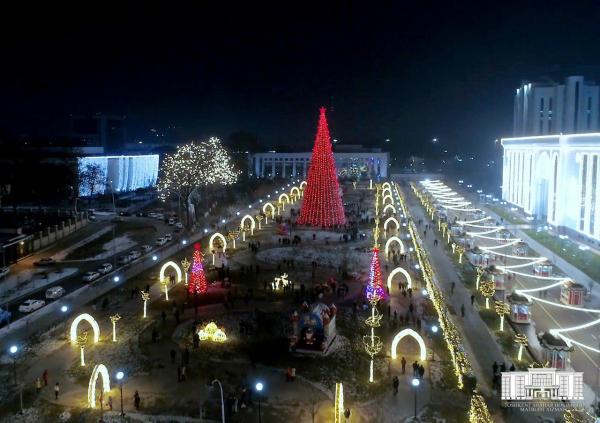В праздничные дни в Ташкенте будет ограничено движение грузового транспорта