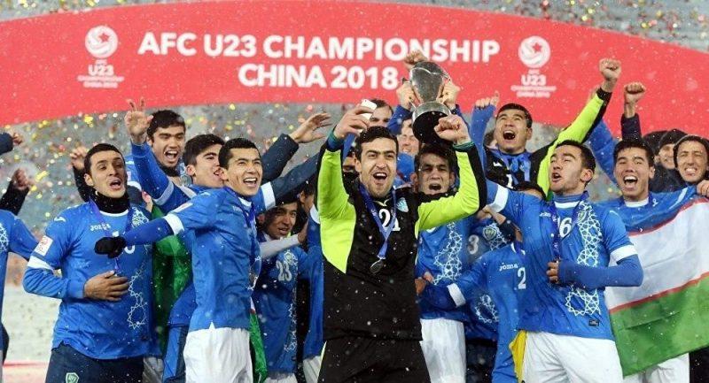Олимпийская сборная Узбекистана  сегодня проведёт первый матч на чемпионате Азии