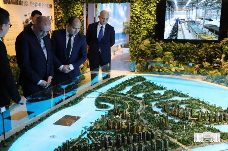 Хоким Ташкента провел ряд переговоров в Китае