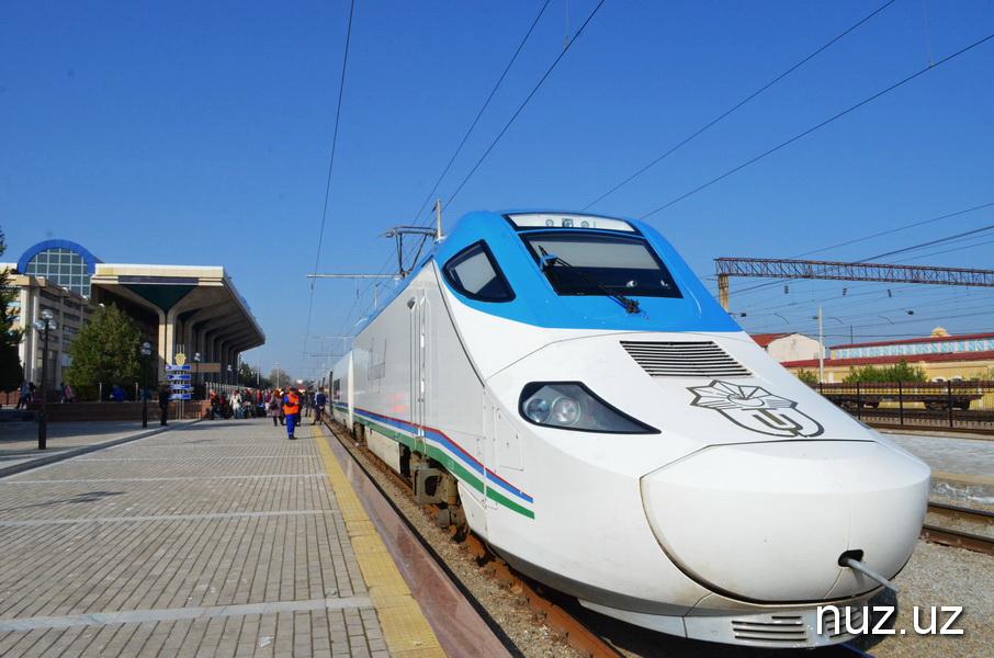 Скоростные поезда вновь пойдут в направлении Бухара – Хива - Бухара