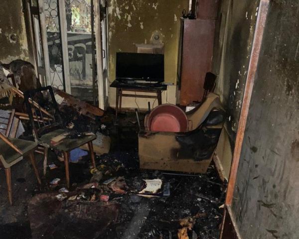 При пожаре в Ташкенте погиб 78-летний мужчина