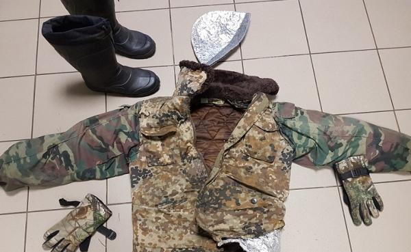 Узбекистанец пытался перебраться через белорусско-литовскую границу задом наперед, обернувшись фольгой (видео)