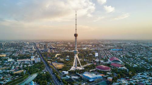 35 лет Ташкентской телебашне