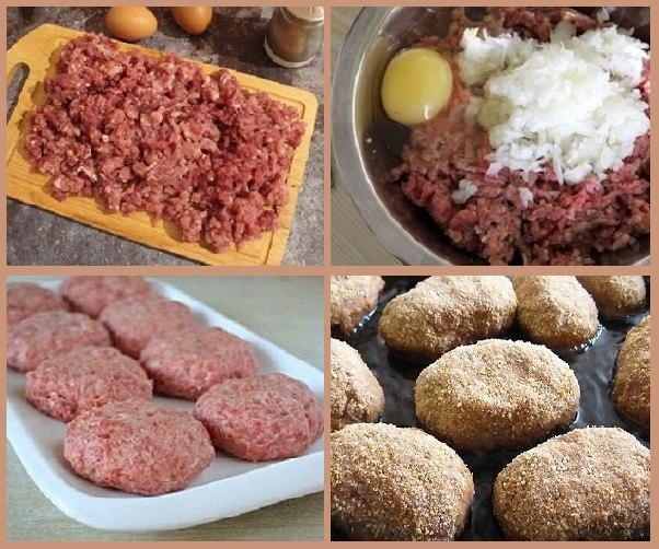Режем мясо на кусочки, будут вкусными «Биточки»!