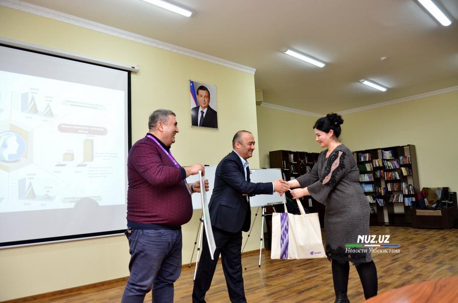 """Региональное отделение """"Ucell-Buxoro"""" отметило 20-летие и провело благотворительную акцию (фото)"""