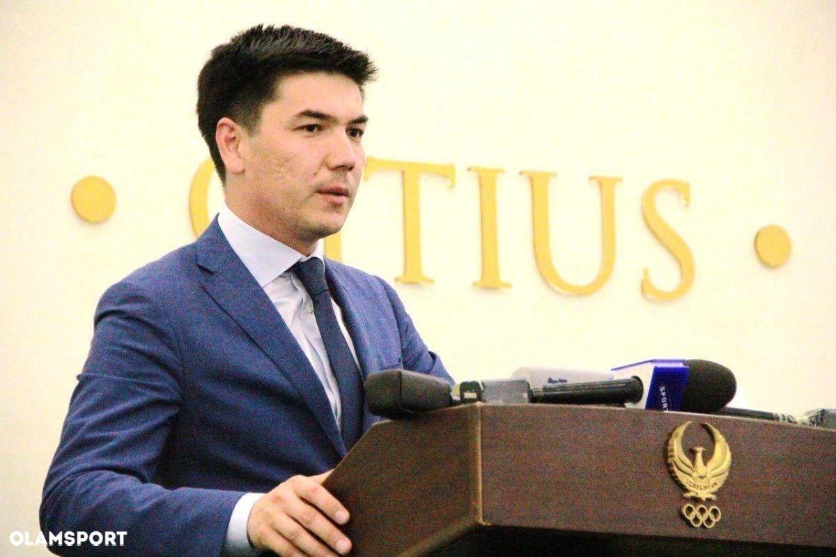 Ойбек Косимов назначен генеральным секретарем НОК