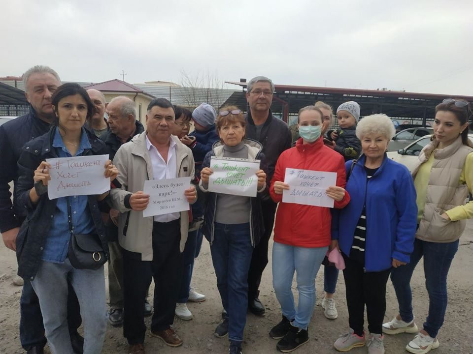 Ташкент хочет дышать: жители Мирабадского района требуют создать зеленую зону вместо строительства многоэтажного дома
