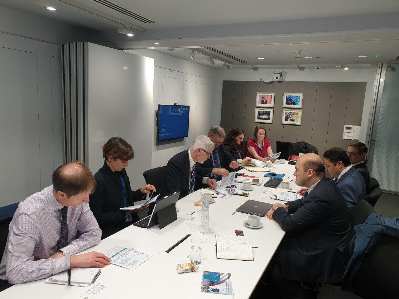 Встречи в Лондоне: узбекские эксперты встретились с коллегами из британских аналитических центров
