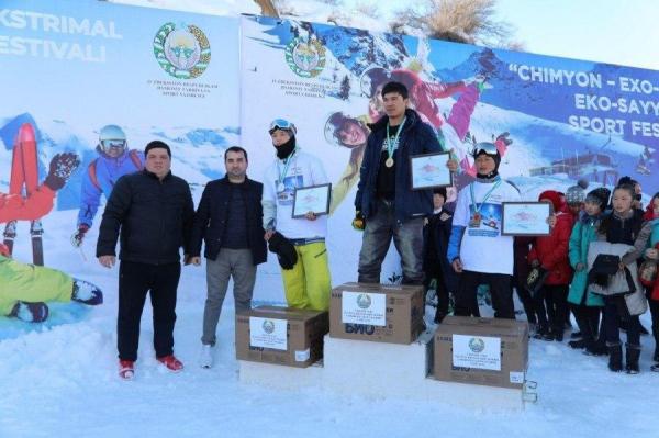 В Чимгане прошли фестивали «Чимган-ЭХО-2020» и «Чимган-Экстрим-2020»